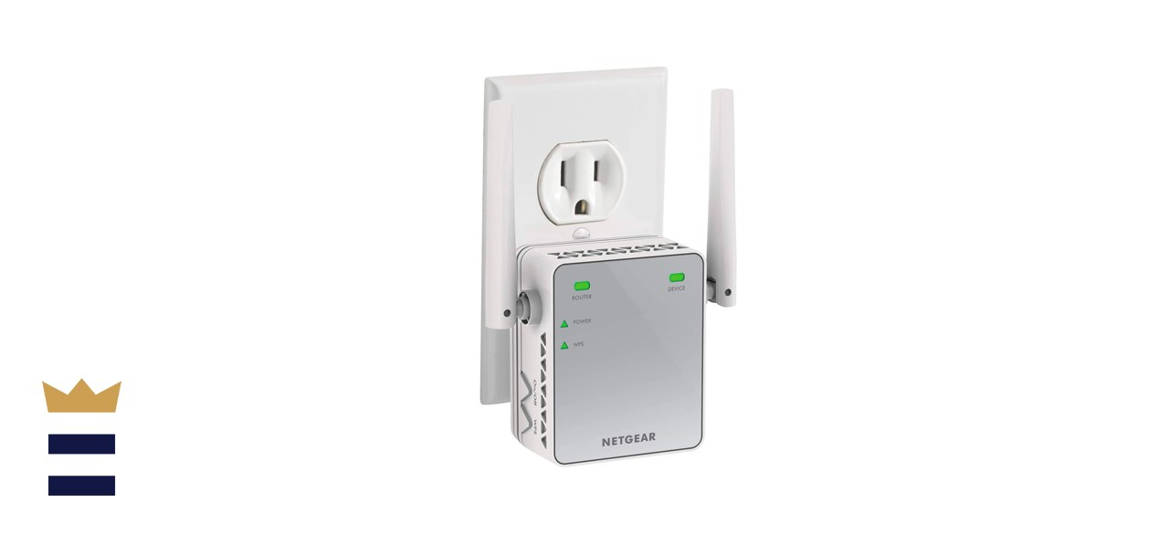 Netgear EX2700 N300 WiFi Extender For Up To 800 Square Feet and 300 Mbps