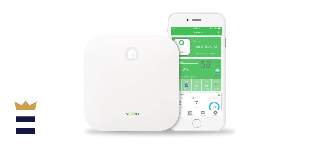 Netro Smart Sprinkler Controller