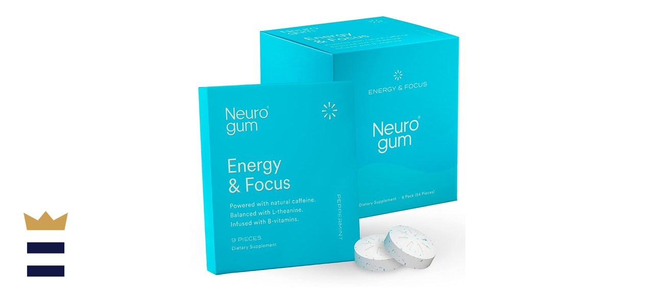 Neuro Gum Energy and Focus Nootropic Chewing Gum