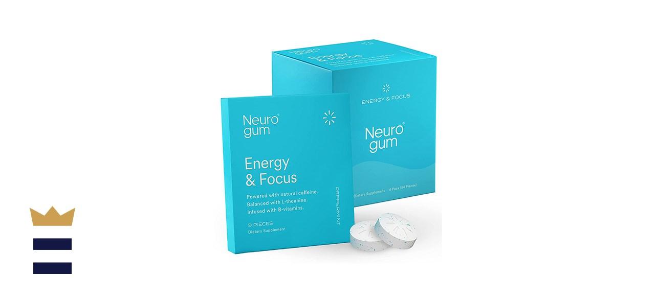 NeuroGum Nootropic Energy & Focus Gum