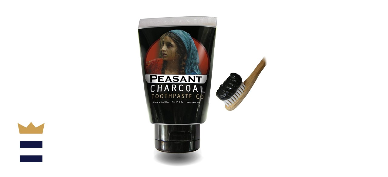 Neutripure Charcoal Toothpaste for Natural Teeth Whitening
