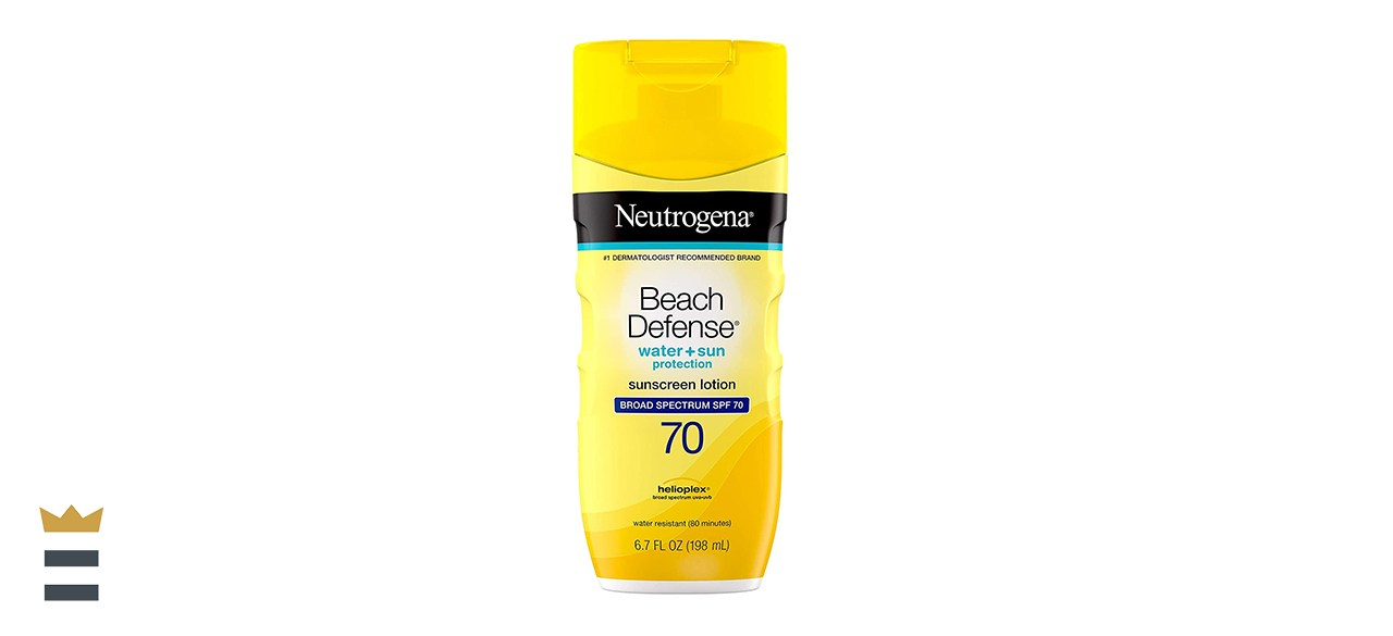 Neutrogena Beach Defense Sunscreen Body Lotion Broad-Spectrum SPF 70