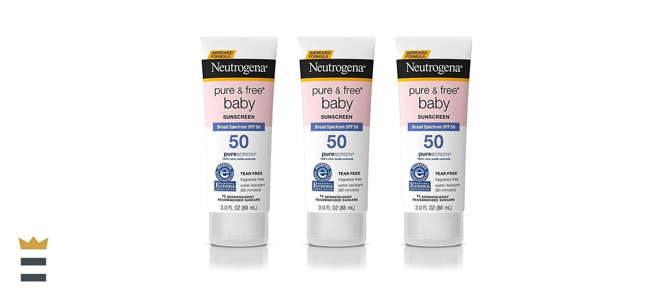 Neutrogena Pure and Free Baby Mineral Sunscreen SPF 50