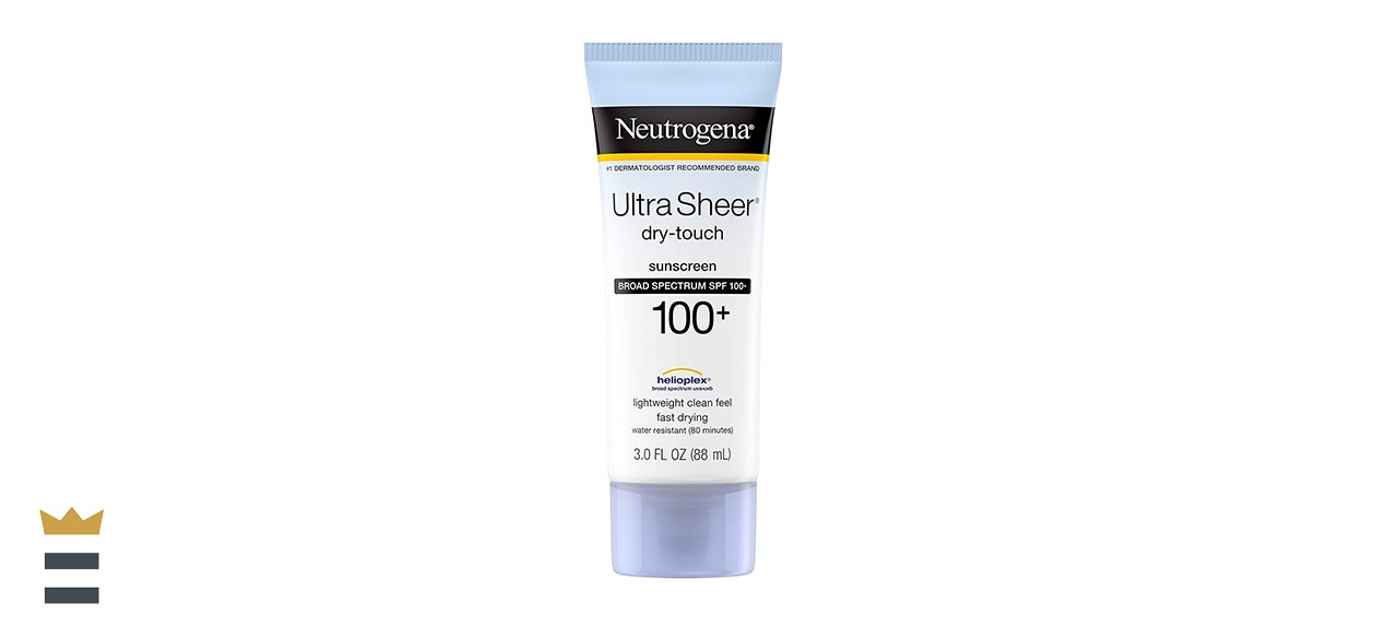 Neutrogena Ultra Sheer Dry-Touch Sunscreen, Broad-Spectrum SPF 100