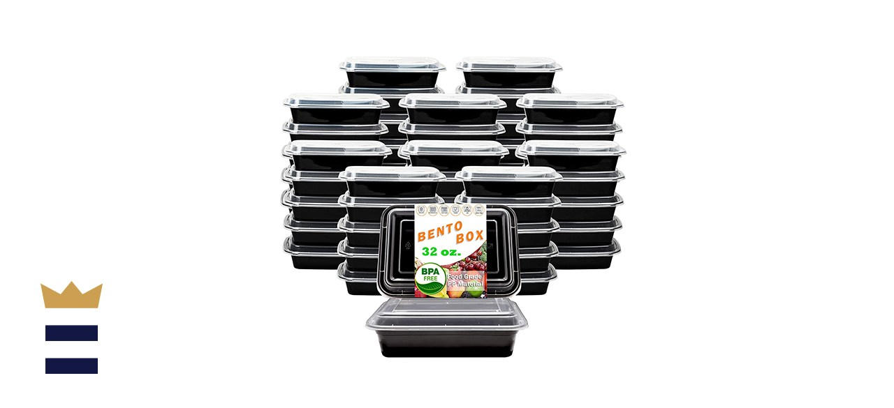New Century Single Compartment Food Containers