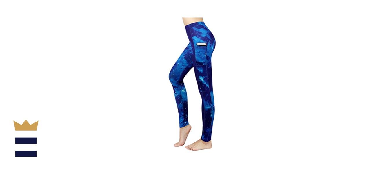New Minc Galaxy Print High Waist Yoga Pants
