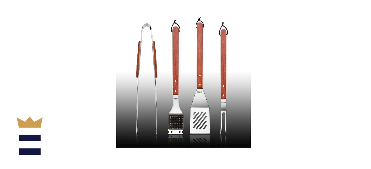 New Star Foodservice Stainless Steel BBQ Tool Set