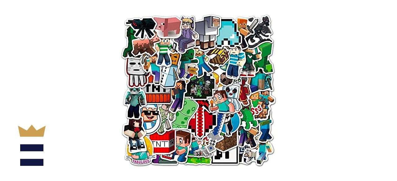 Newport Store Minecraft Stickers (50 Pack)