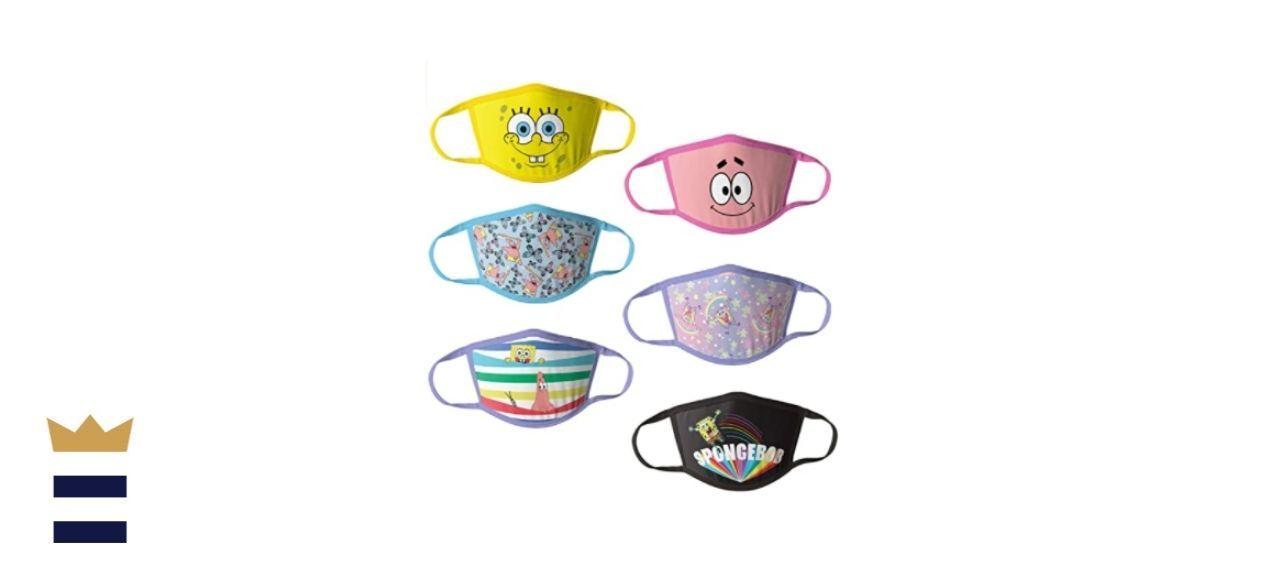 Nickelodeon Kids' Reusable Mask SpongeBob