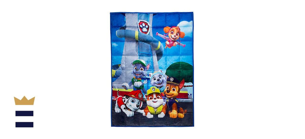 Nickelodeon PAW Patrol 4.5-Pound Reversible Weighted Blanket
