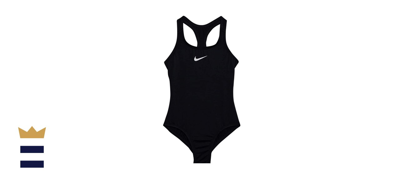 Nike Girls' Essential Racerback One-Piece Swimsuit