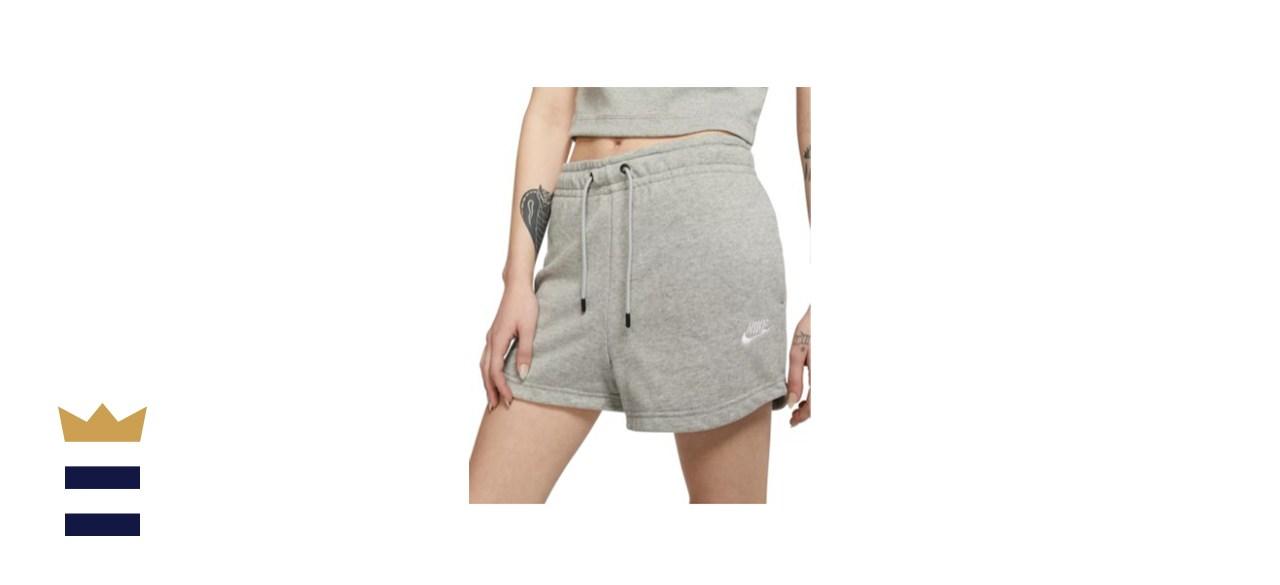 Nike Women's Sportswear Essential Terry Shorts