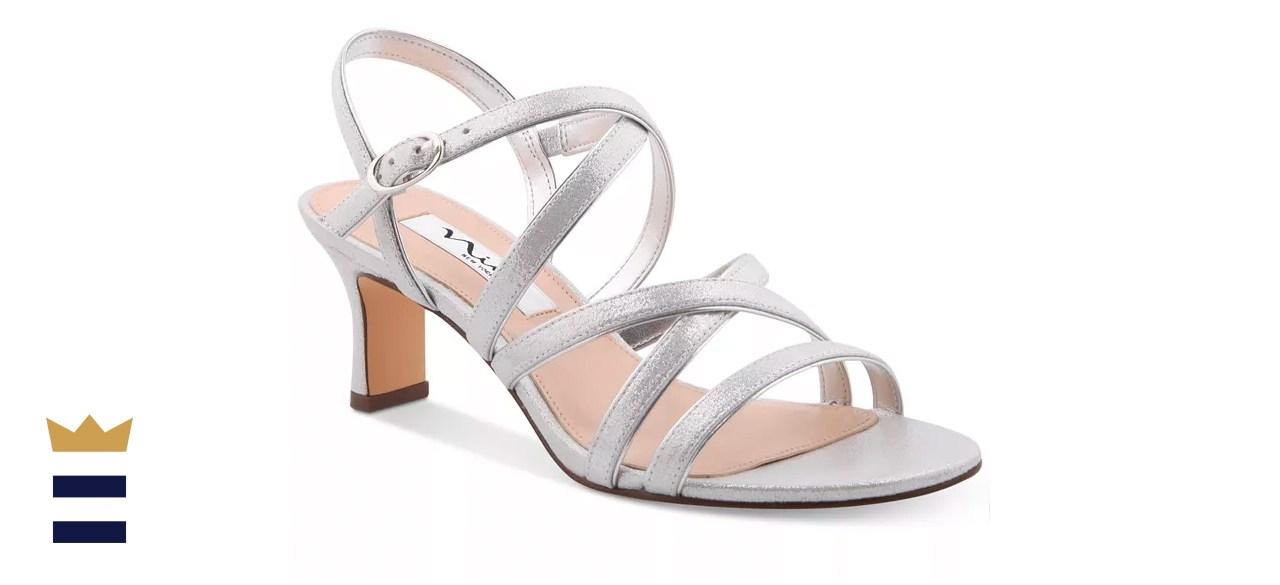 Nina Genaya Strappy Evening Sandal