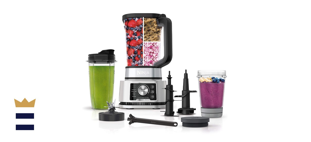 Ninja Foodi SS351 Power Blender & Processor System with Smoothie Bowl Maker and Nutrient Extractor