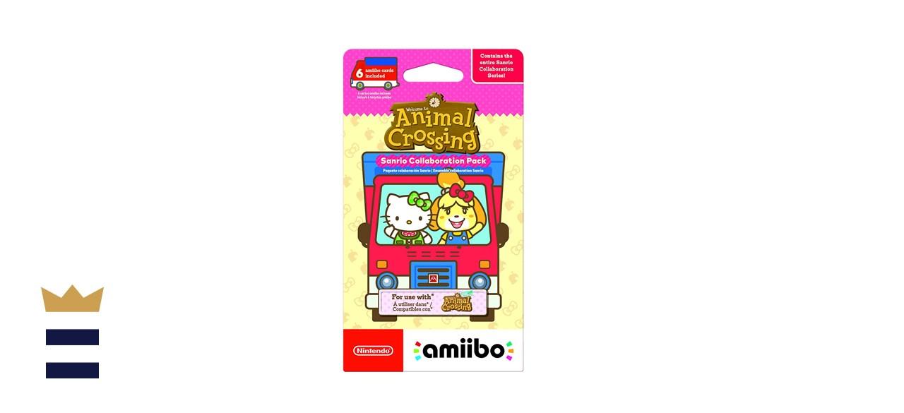 Nintendo Amiibo Animal Crossing New Horizon Sanrio Collaboration Exclusive Pack