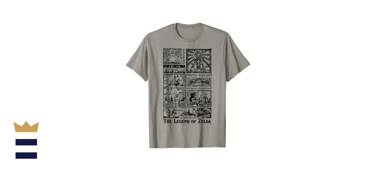 """Fifth Sun """"The Legend of Zelda"""" T-Shirt"""