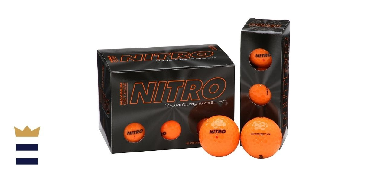 Nitro Maximum Distance Golf Balls