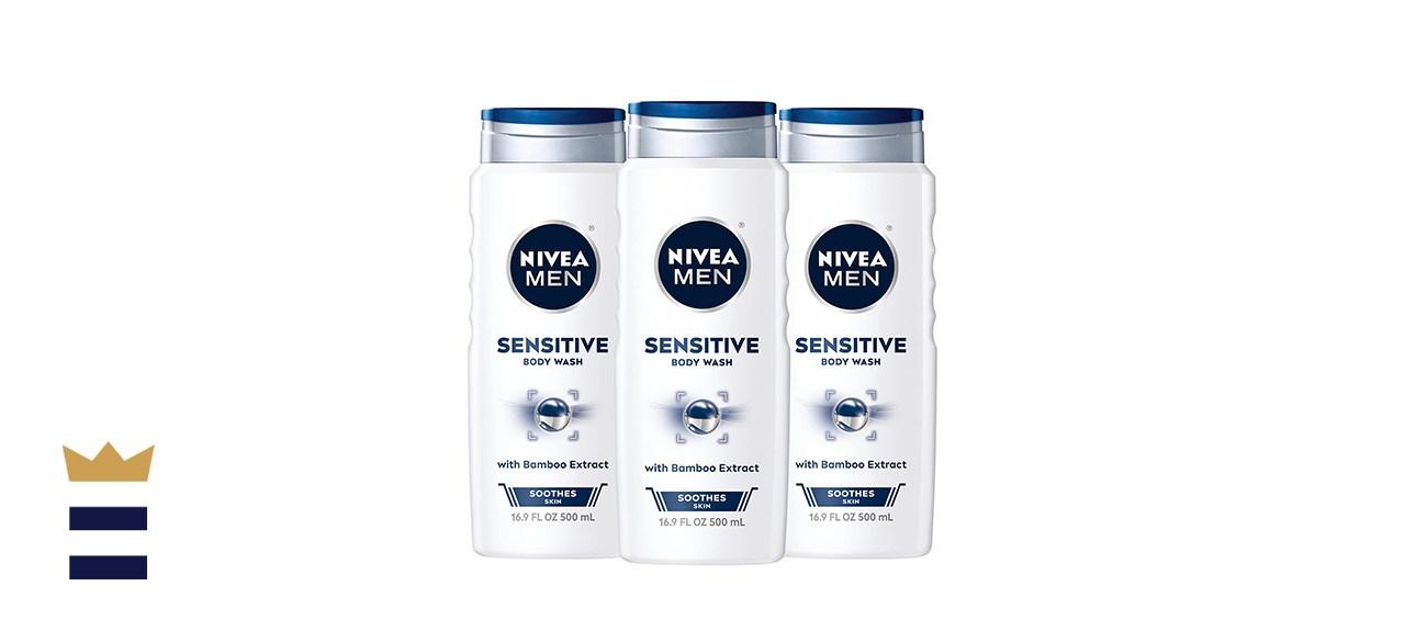 Nivea Men Sensitive 3-in-1 Body Wash