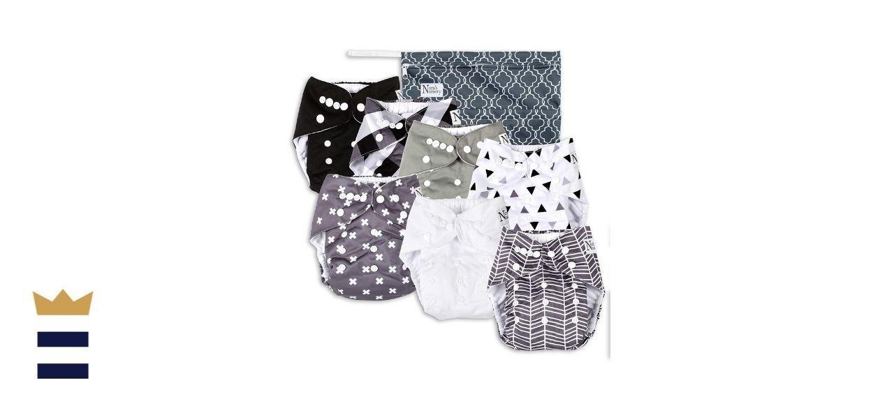 Nora's Nursery Unisex Baby Cloth Pocket Diapers