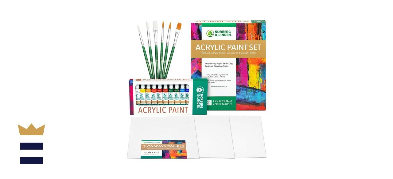 Norberg & Linden Acrylic Paint Set