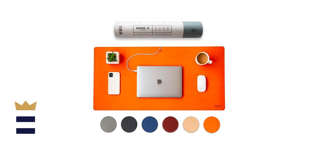Nordik by Design Vegan Leather Desk Mat