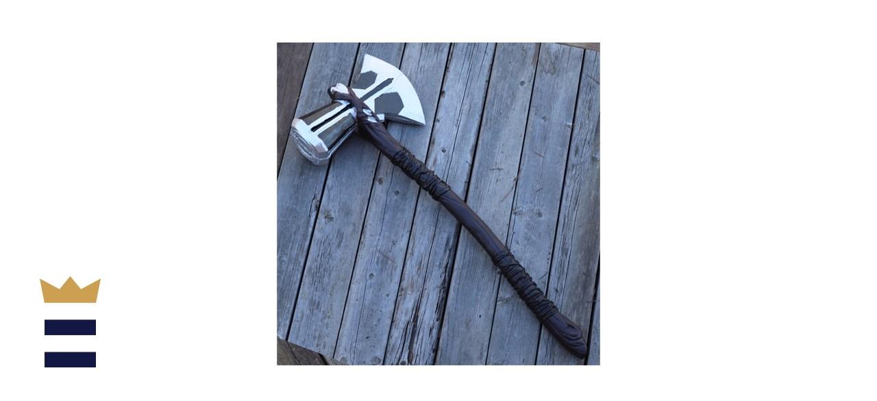 Norse Lightning God Foam War Ax Hammer