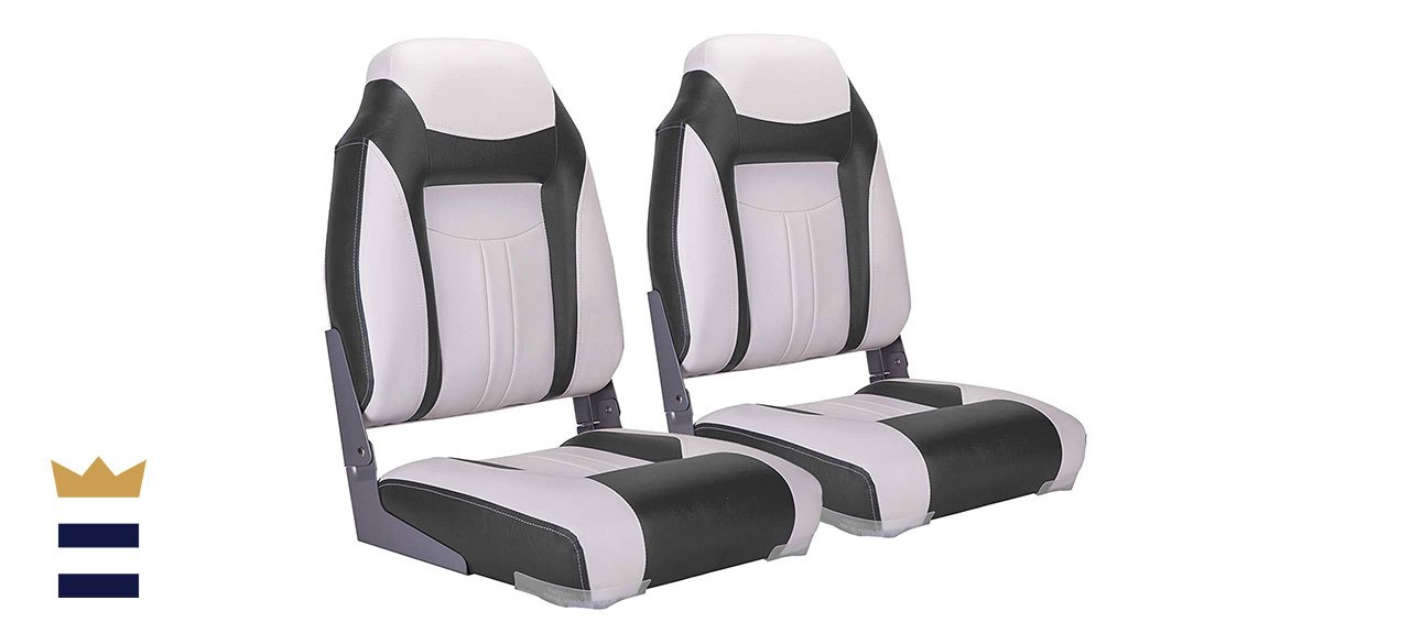 NorthCaptain's S1 Deluxe High-Back Folding Boat Seats