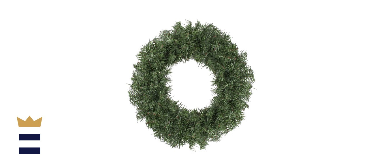 Northlight Unlit Canadian Pine Artificial Christmas Wreath