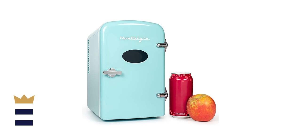 Nostalgia Retro 6-Can Personal Refrigerator