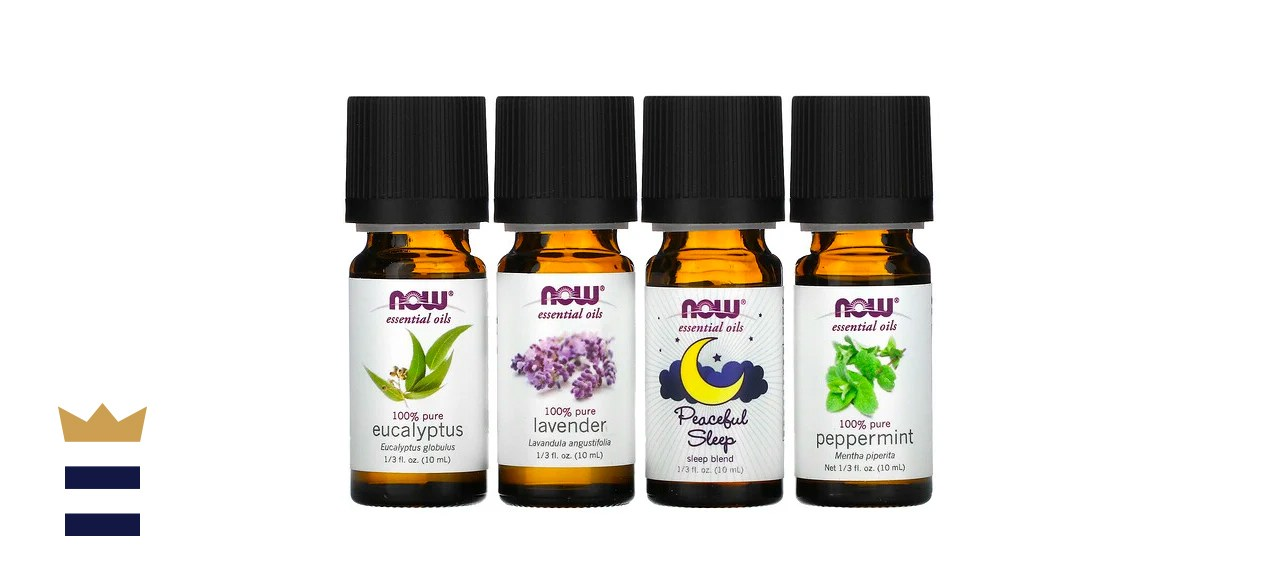 Now Foods Let There Be Peace and Quiet, Relaxing Essential Oils Kit