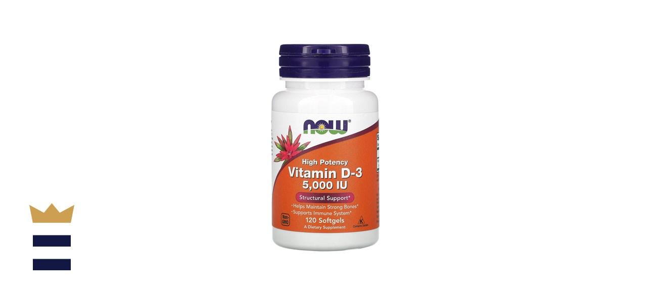 Now Foods vitamin D 5000 IU Softgels
