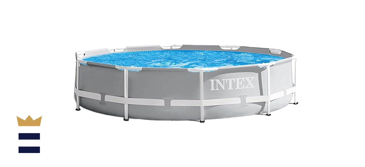 Now Intex 10ft x 30in Prism Frame Pool Set with Filter Pump