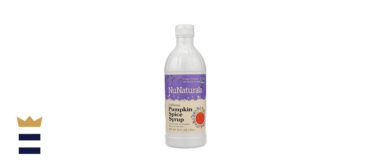 NuNaturals Premium Plant-Based Pumpkin Spice Syrup