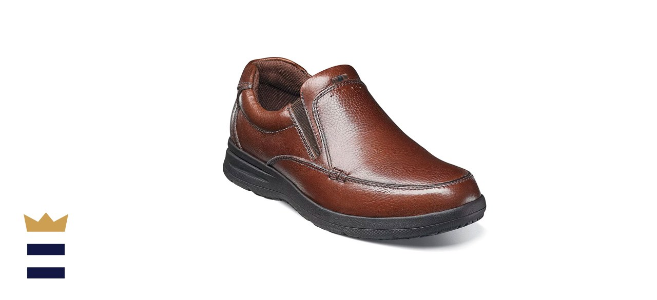 Nunn Bush Men's Cam Moc Toe Slip-On Shoes