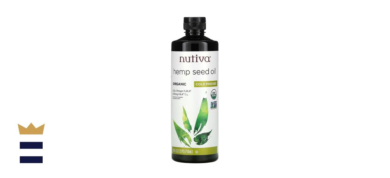 Nutivas Organic Hemp Seed Oil