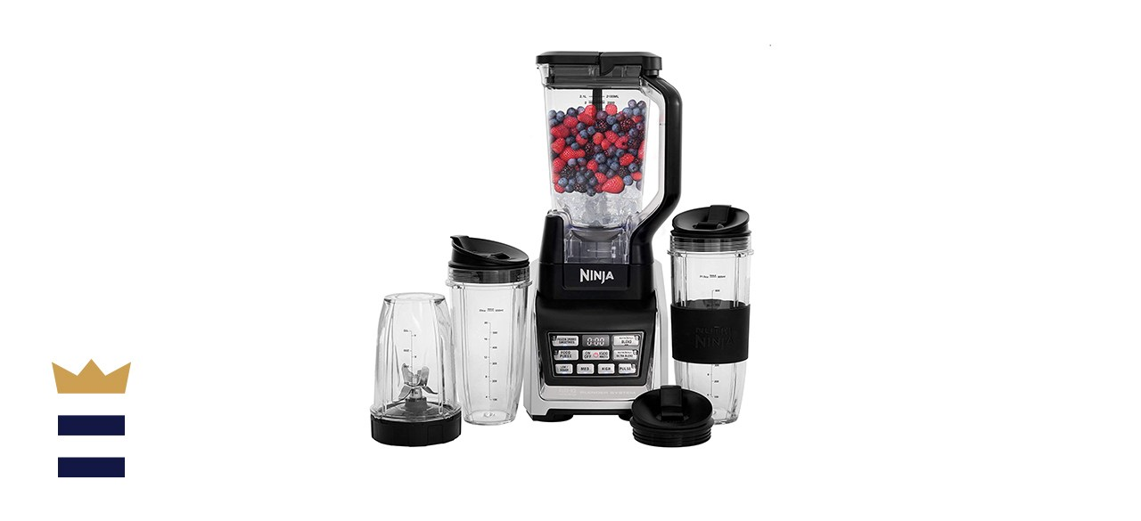 Nutri Ninja Personal and Countertop Blender with Auto-IQ