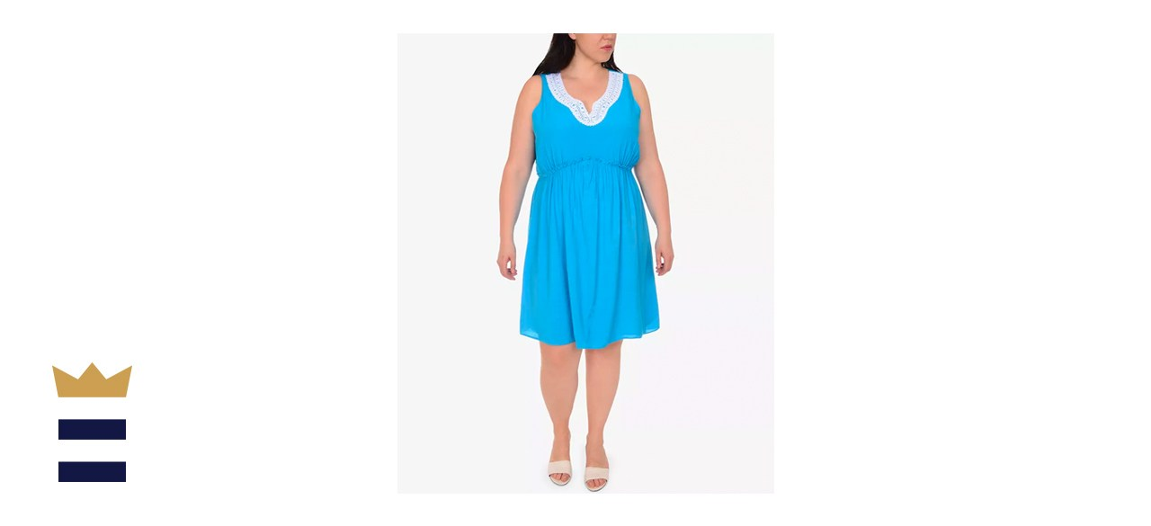 NY Collection Plus-Size A-Line Dress