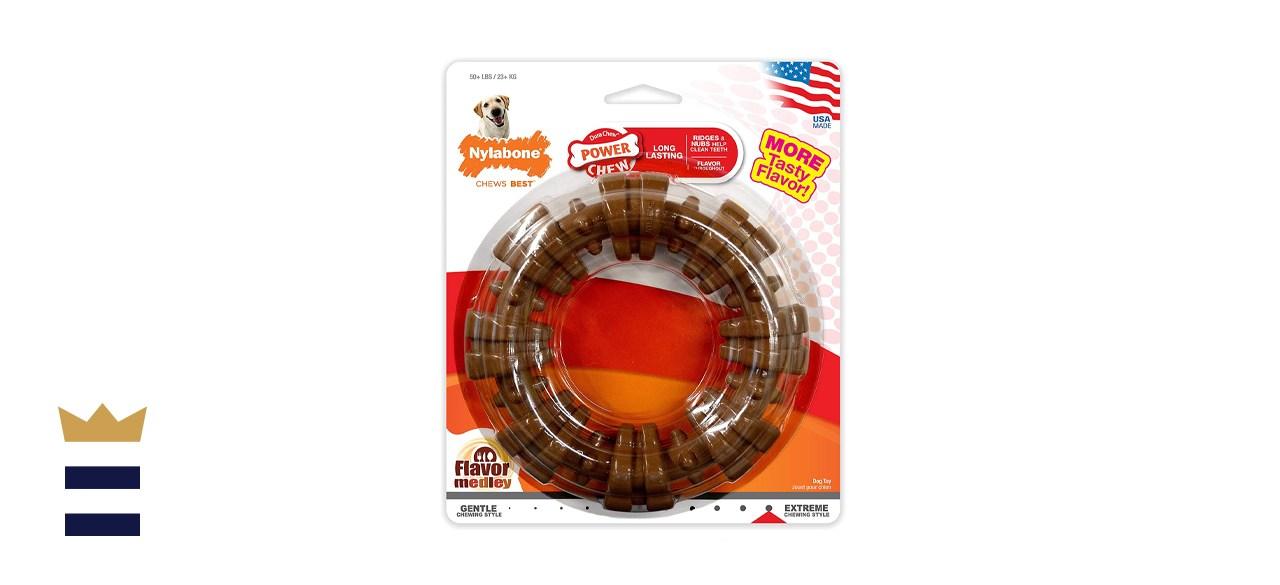 Nylabone Power Chew Textured Dog Chew Ring