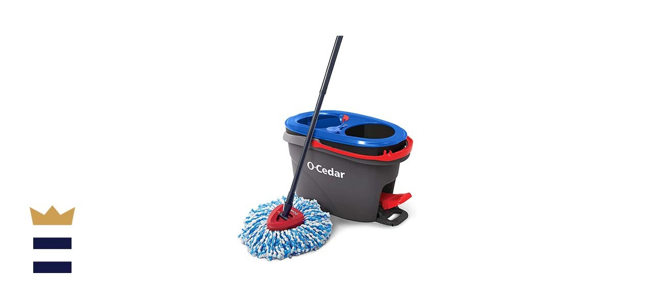 O-Cedar EasyWring RinseClean Microfiber Spin Mop & Bucket Floor Cleaning System