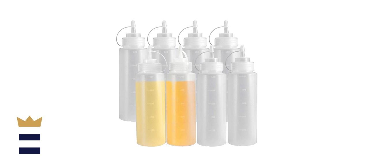 OAMCEG 16-Ounce Condiment Squeeze Bottles