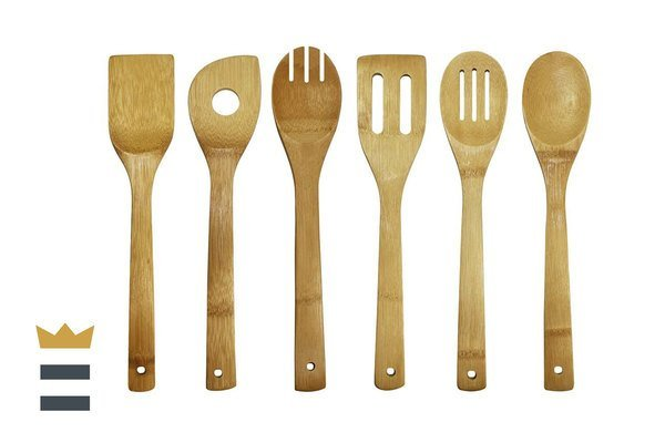 Oceanstar Bamboo Cooking Utensil Set