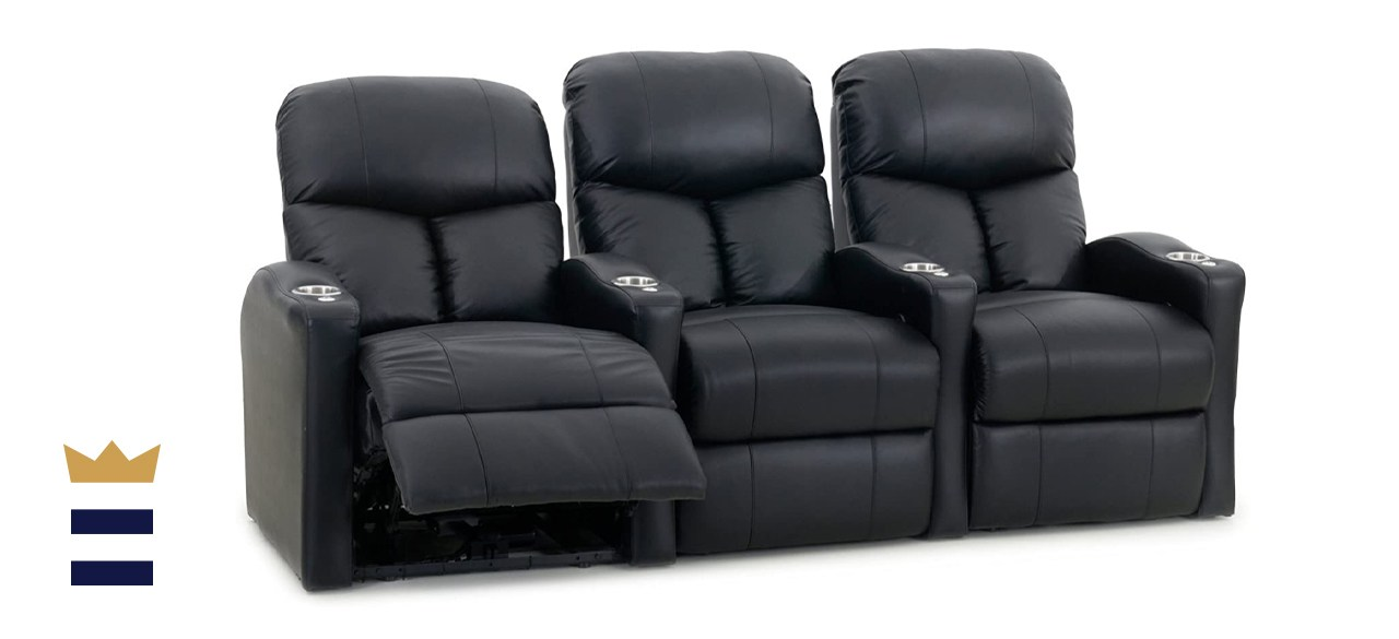 Octane Seating Bolt XS400 Motorized Leather Home theater Recliner Set