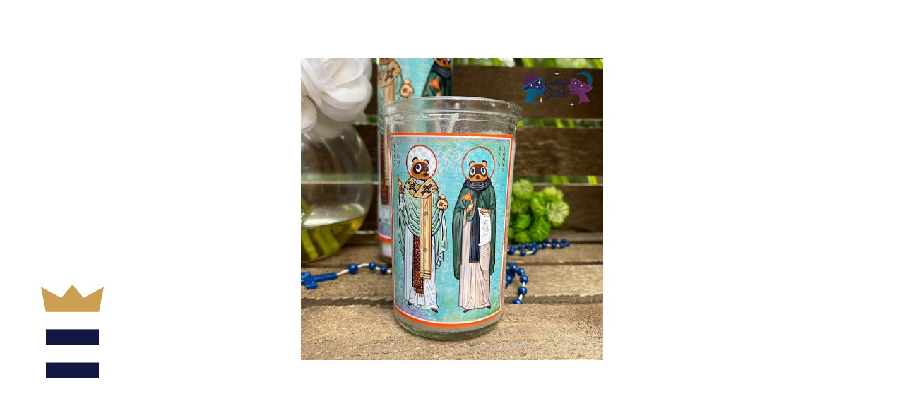 Oddity Sisters Mini Timmy Tommy Animal Crossing Prayer Candle
