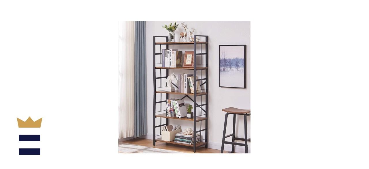 OIAHOMY Industrial Bookshelf