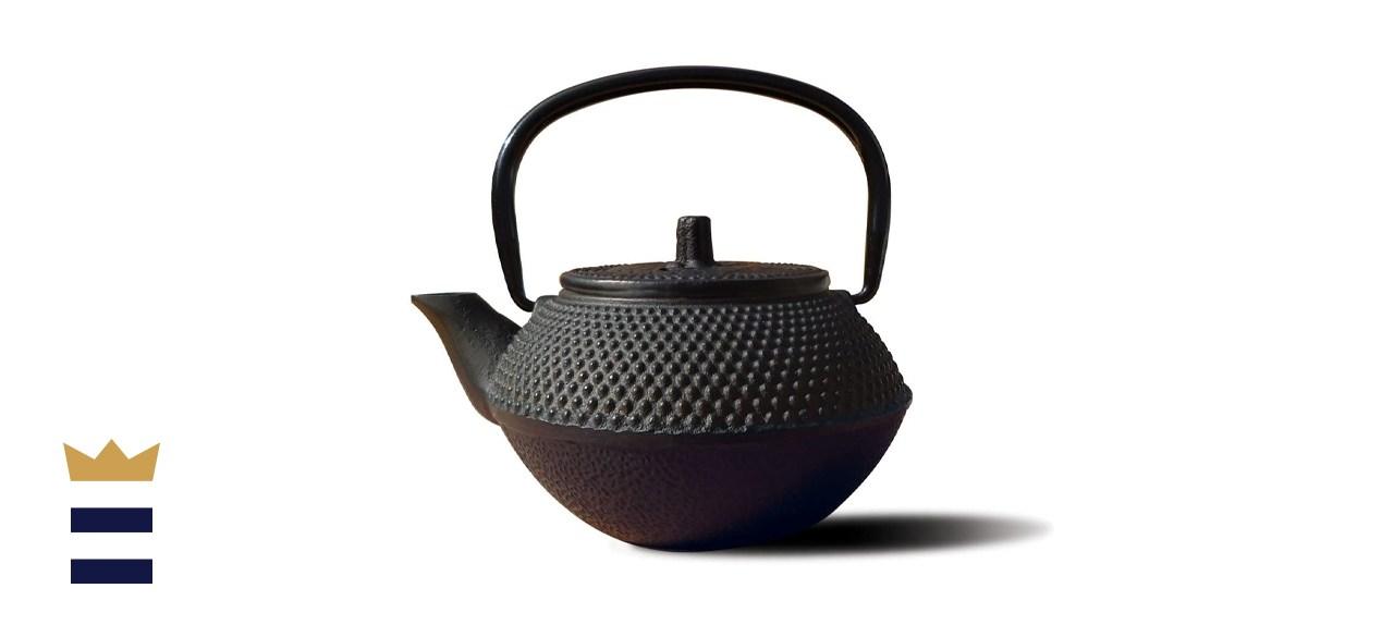 Old Dutch Cast-Iron Saga Teapot