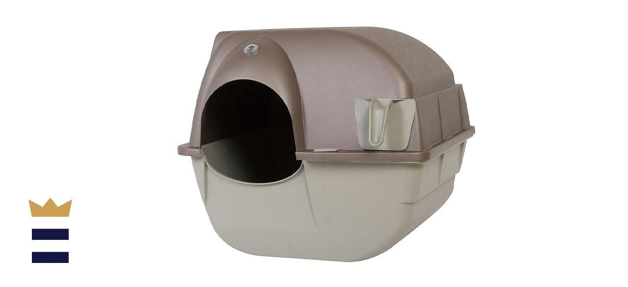 Omega Paw Easy Fill Roll 'n Clean Cat Litter Box