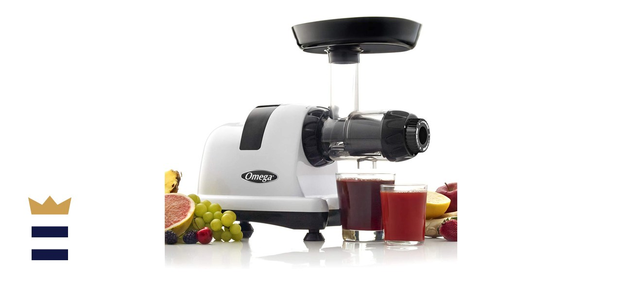 Omega Quiet Dual-Stage Slow Speed Masticating Juicer