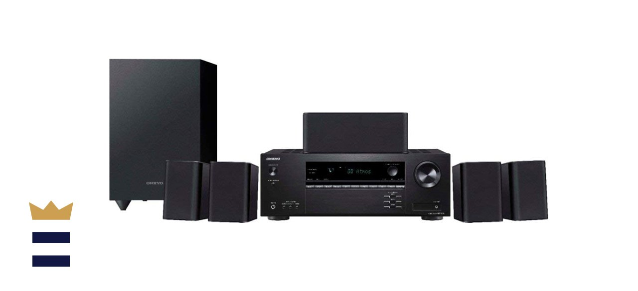 Onkyo 5.1 Home Theater Receiver & Speaker Package