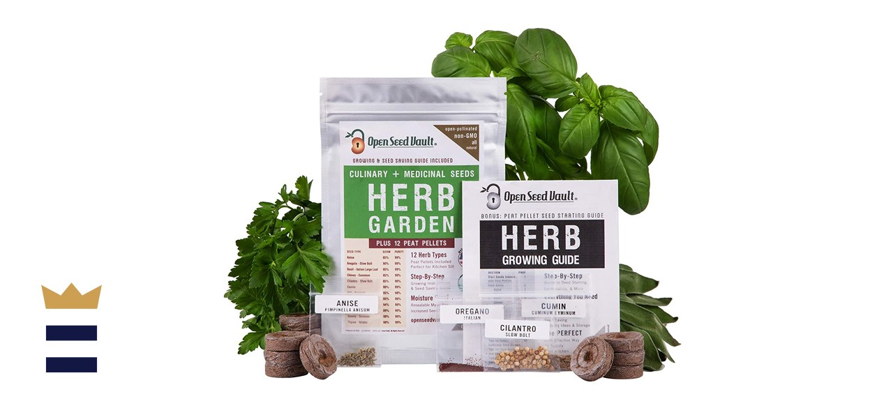 Open Seed Vault Store 100% Non-GMO Heirloom Herb Garden