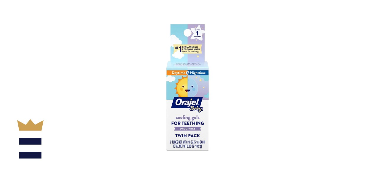 Orajel Baby Non-Medicated Cooling Gel for Teething